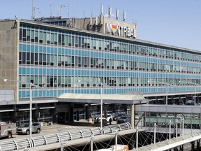 The main terminal at Trudeau airport in Dorval.