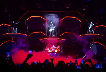 KISS performs their End of the Road farewell tour in Montreal, Quebec August 16, 2019.