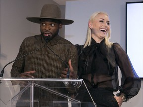 Former Canadien P.K. Subban and his girlfriend, Lindsey Vonn, attended a charity event downtown Thursday night in support of the Montreal Children's Hospital.