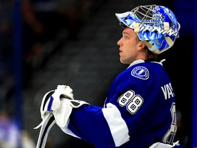 The Lightning's Andrei Vasilevskiy has a 7-1-2 record against Montreal with 2.16 goals-against average and a .929 save percentage.