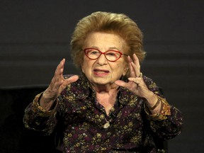 """""""I always try to bring something new to the table and I'll have some new tips to offer,"""" says Dr. Ruth Westheimer."""
