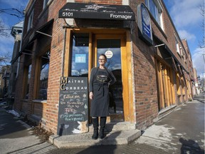 """Isabelle Coulombe, owner of Fromagerie Maître Corbeau, has seen her neighbourhood change dramatically over the past 25 years. """"Now it's practically only French people living here."""""""