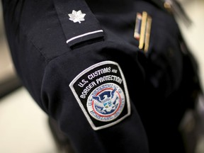 A U.S. Customs and Border Protection officer