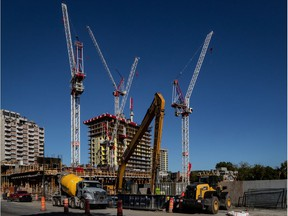 """After decades of being The City That Development Forgot, Montreal is booming, with even more construction cranes than """"rues barrées."""""""