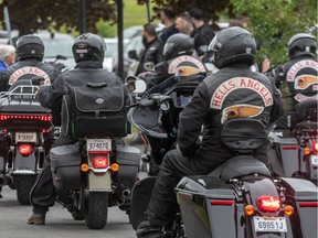 At issue is whether a Hells Angels decision to remain a member of the gang is enough evidence to suggest he will likely be violent in the future.