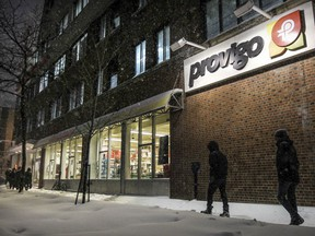 A Provigo store in downtown Montreal.