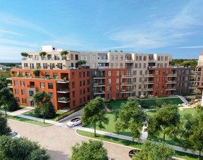 Curtiss Condos will consist of seven buildings spread over multiple phases.