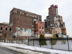The former Canada Malting industrial site in Montreal's St-Henri district Tuesday March 3, 2020.