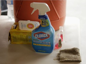 The Centre antipoison du Québec has seen calls increase since the start of the pandemic, logging 559 calls concerning exposure to household cleaning products, including bleaches.
