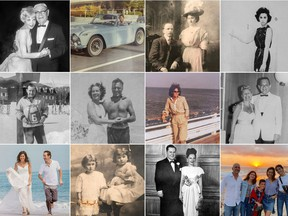 Organizing generations' worth of images can be a nightmare, but paid off for Rochelle Lash. TOP: Leah Lash Warner and grandfather Morris Lash; Steve Lash; Joseph and Gertrude Balacan; Gloria Lash. MIDDLE: Edward Lash; Mary McHale and I.J. Lash; Rochelle Lash; Rose and Leon Dubrow. BOTTOM: Kara Crudo Lash and Marty Lash (photo by Steve Lash); Jeanette and Gloria Balacan; David Lash and Ethel Witkov Lash; Mark, Lucy, Roman, Lysa and Katie Hornstein.