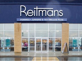 Reitman's Canada Ltd is seeking creditor protection under the Companies Creditors Arrangement Act, the retailer said Tuesday.