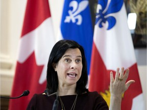 Mayor Valérie Plante was reacting to a voluminous report by Montreal's consultation bureau released Monday that says the city has turned a blind eye to systemic racism and discrimination in police and the city administration.