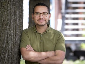 MONTREAL, QUE.: June 4, 2020 -- Diego Mena is the advocacy director of the Quebec divisio of the Canadian Cancer Society, he is seen in Montreal, on Thursday, June 4, 2020. (Allen McInnis / MONTREAL GAZETTE) ORG XMIT: 64537