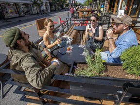 """""""We aren't ruling out closing the bars,"""" Premier François Legault said today."""