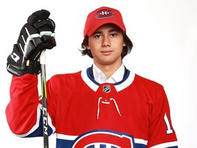 The Canadiens selected Russian defenceman Alexander Romanov in the second round (38th overall) of the 2018 NHL Draft.