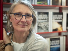 Crime novelist Louise Penny at the Montreal book show November, 2018.