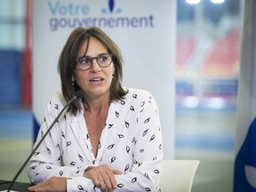 Isabelle Charest, junior education minister responsible for sports, says the government feels comfortable with the protocols that have been presented by the individual federations.