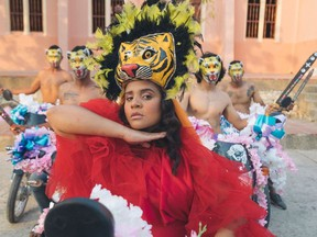 """Protest is a way of life for Colombian-Canadian singer-songwriter Lido Pimienta. """"I'm an artist who comes from exploited communities on my mother and father's side,"""" she says. """"All I know is to make something beautiful out of something horrific. That's the way I'm able to resist."""""""
