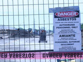 The current acceptable limit varies from 0.2 to 1 fibre per cubic centimetre, depending on the type of asbestos. The new regulation would lower that to 0.1 fibres per centimetre for all types.