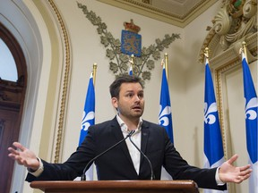 """""""I ask that we not have a war of words, a war over terminologies. I ask that we simply agree on the fact we want to act so that it (racism) ends"""" newly elected Parti Québécois Leader Paul St-Pierre Plamondon says."""