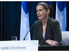 """Quebec deputy premier Geneviève Guilbault said the government is """"looking deeper"""" into the situation and would have more information later."""
