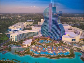 The Guitar Hotel is part of a $1.5-billion expansion at the  Seminole Hard Rock Hotel and Casino Hollywood, a mammoth entertainment, gambling and hospitality complex.