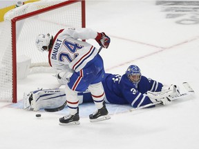 Canadiens' Phillip Danault missed a golden opportunity to win Wednesday night's game against the Leafs when he couldn't beat Frederik Andersen on a breakaway in overtime. The defensive centre should never have been on the ice, Brendan Kelly writes.