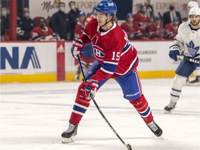 Jesperi Kotkaniemi (in photo) and Joel Armia remained the only Canadiens players on the NHL's COVID Protocol Related Absences list when it was updated at 5 p.m. on Wednesday.
