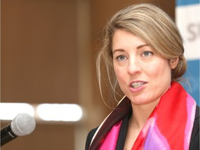Mélanie Joly, seen here in 2019, published a position paper on reform of the federal Official Languages Act on Friday, Feb. 20, 2021.