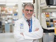 Dr. Duncan Stewart of Ottawa Hospital Research Institute, who is conducting a trial using a type of stem cell obtained from umbilical cords to treat patients made severely ill by COVID-19.
