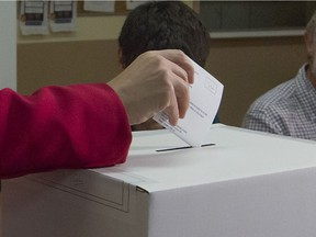 Advance voting will take place over four days instead of two leading up to the Nov. 7 municipal elections.