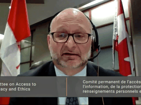 It's often hard to determine whether a company is actually Canadian, federal Justice Minister David Lametti told the House of Commons ethics committee on Monday, April 12, 2021.