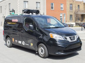In response to waning demand for vaccines among people 55 and over, a van with loudspeakers was sent through Notre-Dame-de-Grâce on the weekend to announce the availability of mobile vaccination clinics.