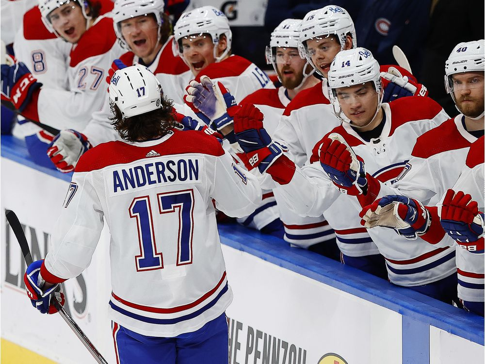 Canadiens Game Day: Josh Anderson leads the way in 4-3 win over Oilers