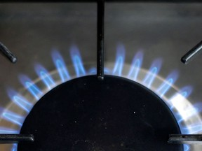 A burner on a natural gas stove. Long thought of as the go-to clean, environmentally friendly fuel, natural gas is fast becoming a dirty word.
