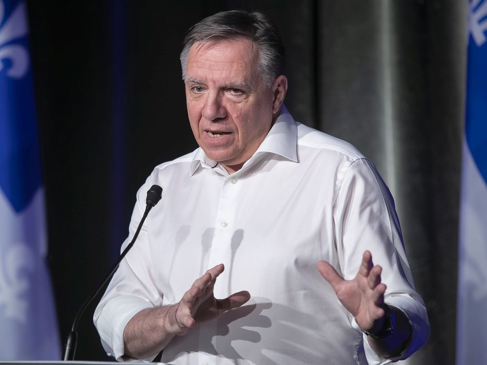 Legault's CAQ still widely supported, Liberals slip among francophones: poll