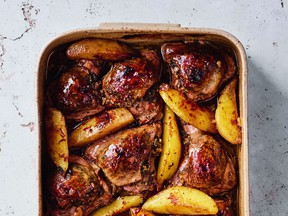 This Arabic chili stuffed chicken is one of 130 recipes from Reem Kassis's The Arabesque Table.