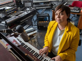 """""""There was a kind of premonition in the songs,"""" Ariane Moffatt says of her intimate new album Incarnat, which she began working on before the pandemic. """"It's about gentleness, about consoling people, about finding yourself emotionally, and it really fits with the tunnel that we're making our way through right now."""""""