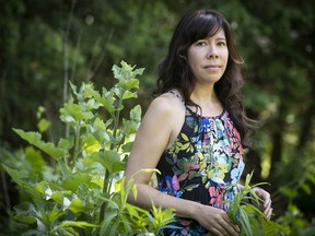 Filmmaker Tracey Deer is seen at home on Wednesday, June 9, 2021 . Her film Beans is a semi-autobiographical story about coming of age during the Oka Crisis.