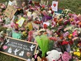 A memorial was created at the corner of Hyde Park and South Carriage roads in London, Ont., in honour of the four members of a Muslim family killed there in what police called a hate-motivated attack.