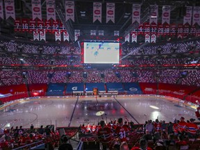 The Canadiens will only be allowed to have 3,500 fans at the Bell Centre for Stanley Cup final games against the Tampa Bay Lightning.