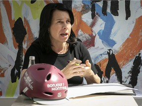 Montreal Mayor Valérie Plante talks about the reopening of tourism in Montreal during news conference  on Wednesday June 23, 2021 during the COVID-19 pandemic. (Pierre Obendrauf / MONTREAL GAZETTE) ORG XMIT: 66333 - 5390