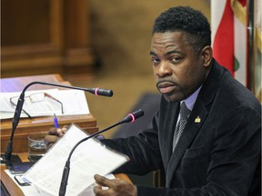 The video was brought to light by Viau MNA Frantz Benjamin