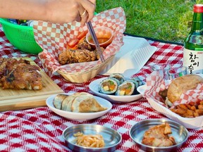Downtown Montreal's reliable standby for Korean cuisine Omma is offering picnic baskets to enjoy in the parks around the Quartier des Spectacles.