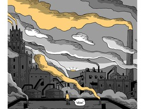 In Factory Summers, cartoonist Guy Delisle delves into his teen years, when he was employed at a Quebec City paper mill.
