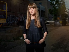 Carolyn Côté-Lussier is part of a team that has launched an open-data research project that will allow citizens to report their experiences with police stops in Montreal.