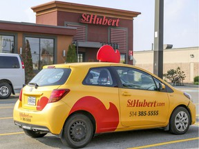 """St-Hubert BBQ says it appreciated team owner Geoff Molson """"taking responsibility"""" and publicly apologizing this week to anyone hurt by the decision to draft Logan Mailloux."""