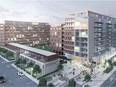 An image of a proposed replacement project for 1-243 Frontenac Ave. in Pointe-Claire.