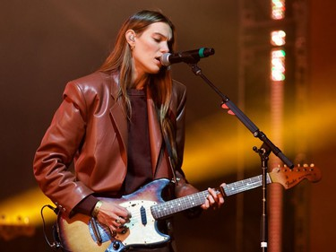 The Charlotte Cardin show at Osheaga at Parc Jean-Drapeau in Montreal on Friday, Oct. 1, 2021.