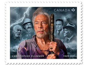 A new Canada Post stamp shows Christopher shows Plummerin a few of his most celebrated roles.